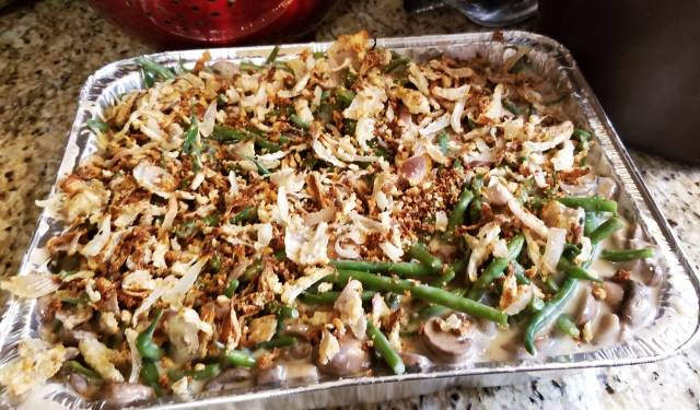 Clean Bean (Green Bean) Casserole