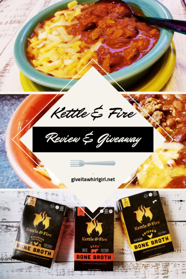 Kettle & Fire Bone Broth Review and Giveaway at Give It A Whirl Girl