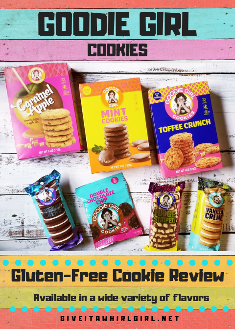 GOODIE GIRL COOKIES REVIEW by Give It A Whirl Girl