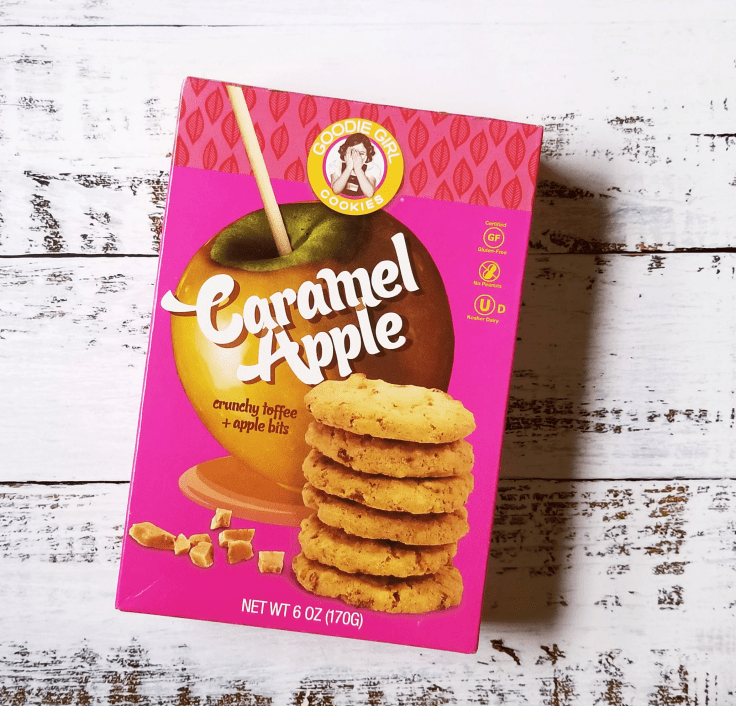 Caramel Apple Goodie Girl Cookies