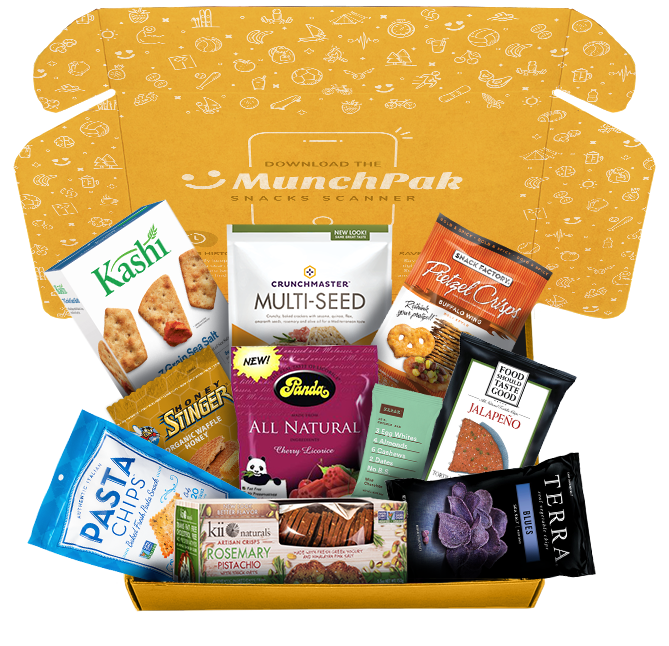 HealthPak by MunchPak healthy snack subscription box