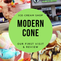 Modern Cone REVIEW - Our First Visit To This Modern-Day Ice-Cream Shop In St. Clair Shores