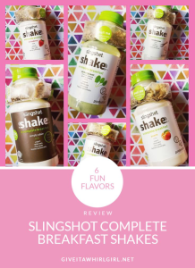 Slingshot Complete Breakfast Shake REVIEW