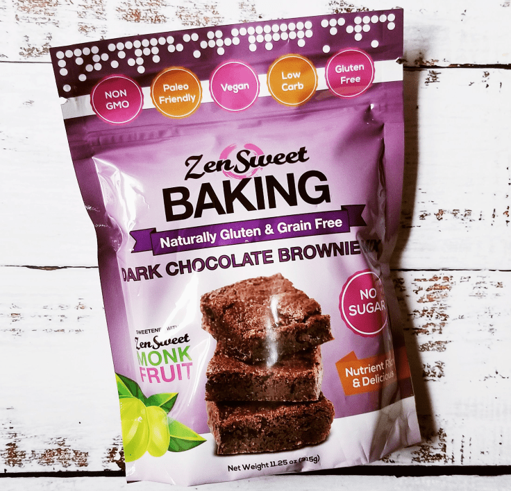 ZenSweet Brownie Baking Mix