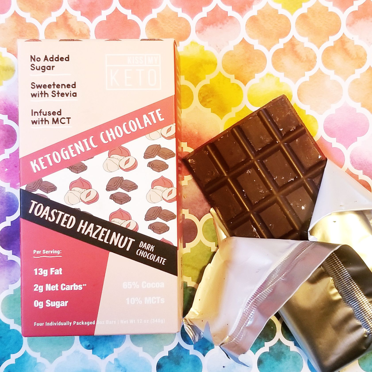 Kiss My Keto Chocolate Bar (Hazelnut)