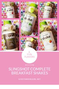Slingshot Shakes Breakfast Shake REVIEW