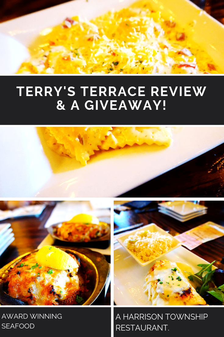 My Birthday Dinner At Terry's Terrace REVIEW & Gift-Card GIVEAWAY 4 Winners! (Harrison Township, MI Restaurant)