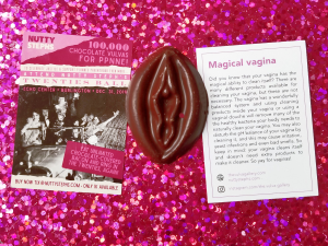 Vulva Chocolate at Nutty Steph's REVIEW by Give It A Whirl Girl