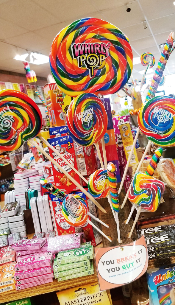 Shop at Rocket Fizz for candy, soda pop, and unique gifts