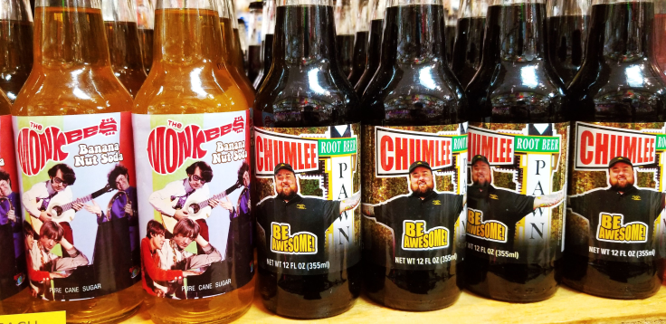 Chumlee soda-pop ROCKET FIZZ REVIEW by GIVE IT A WHIRL GIRL