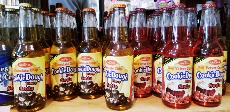 Cookie dough soda-pop!