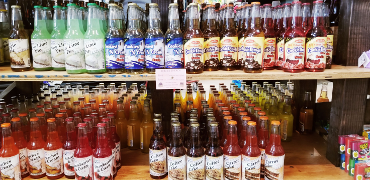 There is a huge variety of different soda pops available here! ROCKET FIZZ REVIEW by GIVE IT A WHIRL GIRL