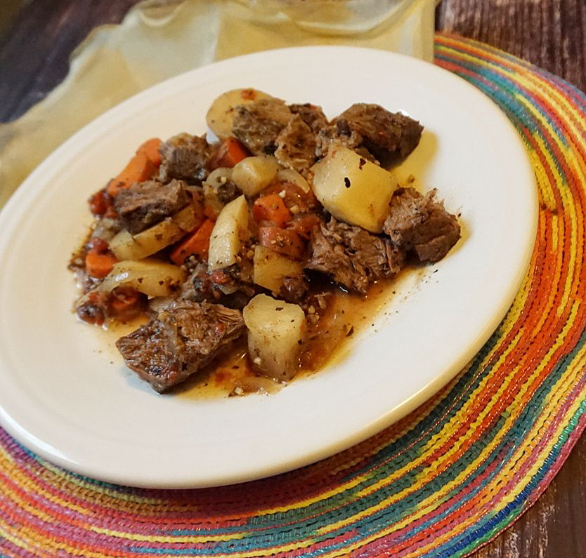 Paleo Root Vegetable Pot Roast