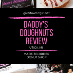 Daddy's Doughnuts REVIEW – Utica, MI Made-To-Order Designer Donut Shop Serving Up Happiness One Doughnut At A Time!