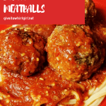Huge Mozzarella Stuffed Meatballs RECIPE (Slow-Cooker) Oozing With Melty Cheese (Gluten-Free Option)