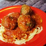 Mozzarella Stuffed Meatballs RECIPE by Give It A Whirl Girl