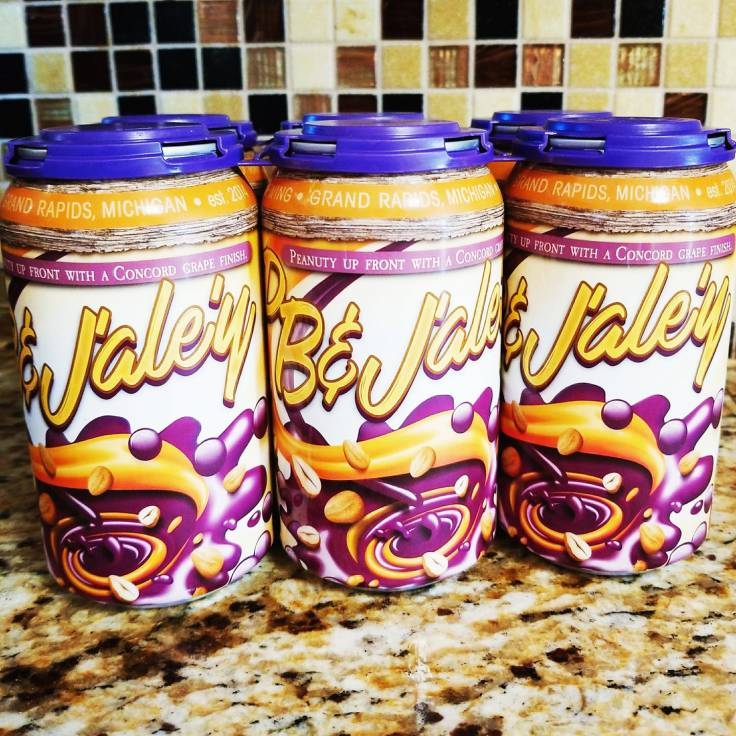 A 6-Pack of PB & Jaley craft beer