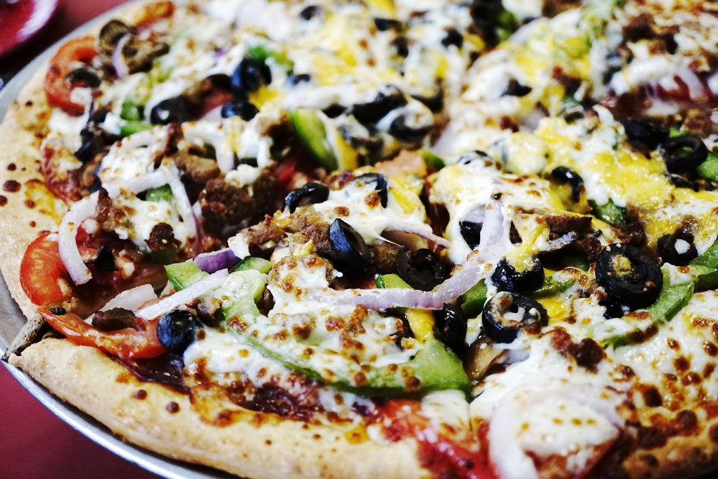 Yard Sale Pizza at Extreme Pizza