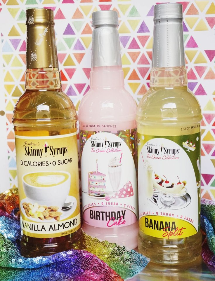 Jordan's Skinny Syrups come in a wide variety of delicious flavors!