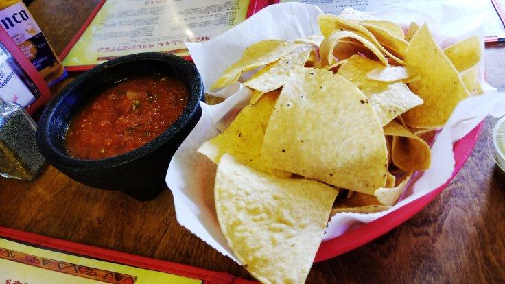 Chips & salsa at Crazy Gringo Mexican Cantina - Clinton Township