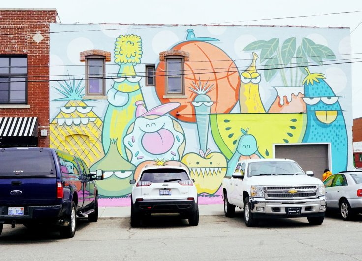 Eastern Market has many murals to see