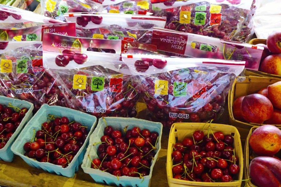 Cherries found at Eastern Market