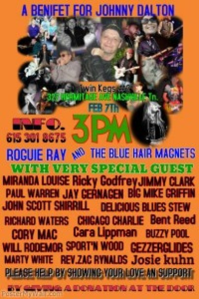 "Roguie Ray ~ Johnny ""JD"" Dalton Benefit"