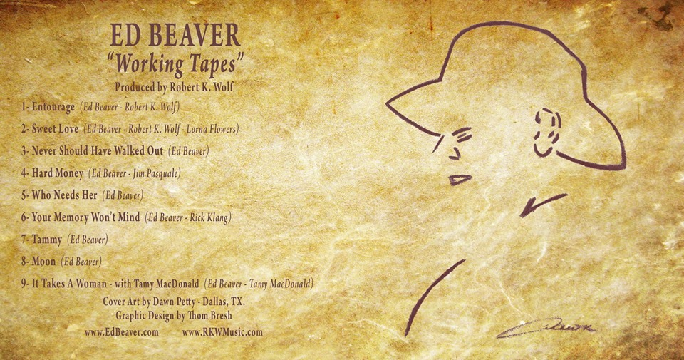 """Ed Beaver """"Working Tapes"""""""