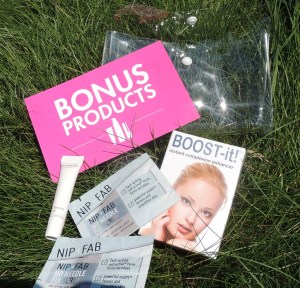 NEWBEAUTY testtube Summer-Fall 2013 Bonus Products