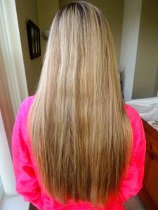 Jen's hair