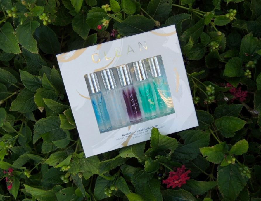 Clean rollerball eau de parfums