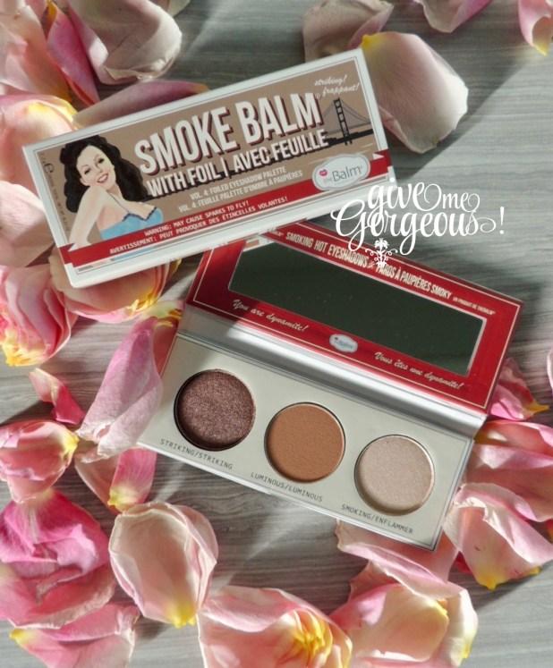 Smoke Balm eyeshadow palette