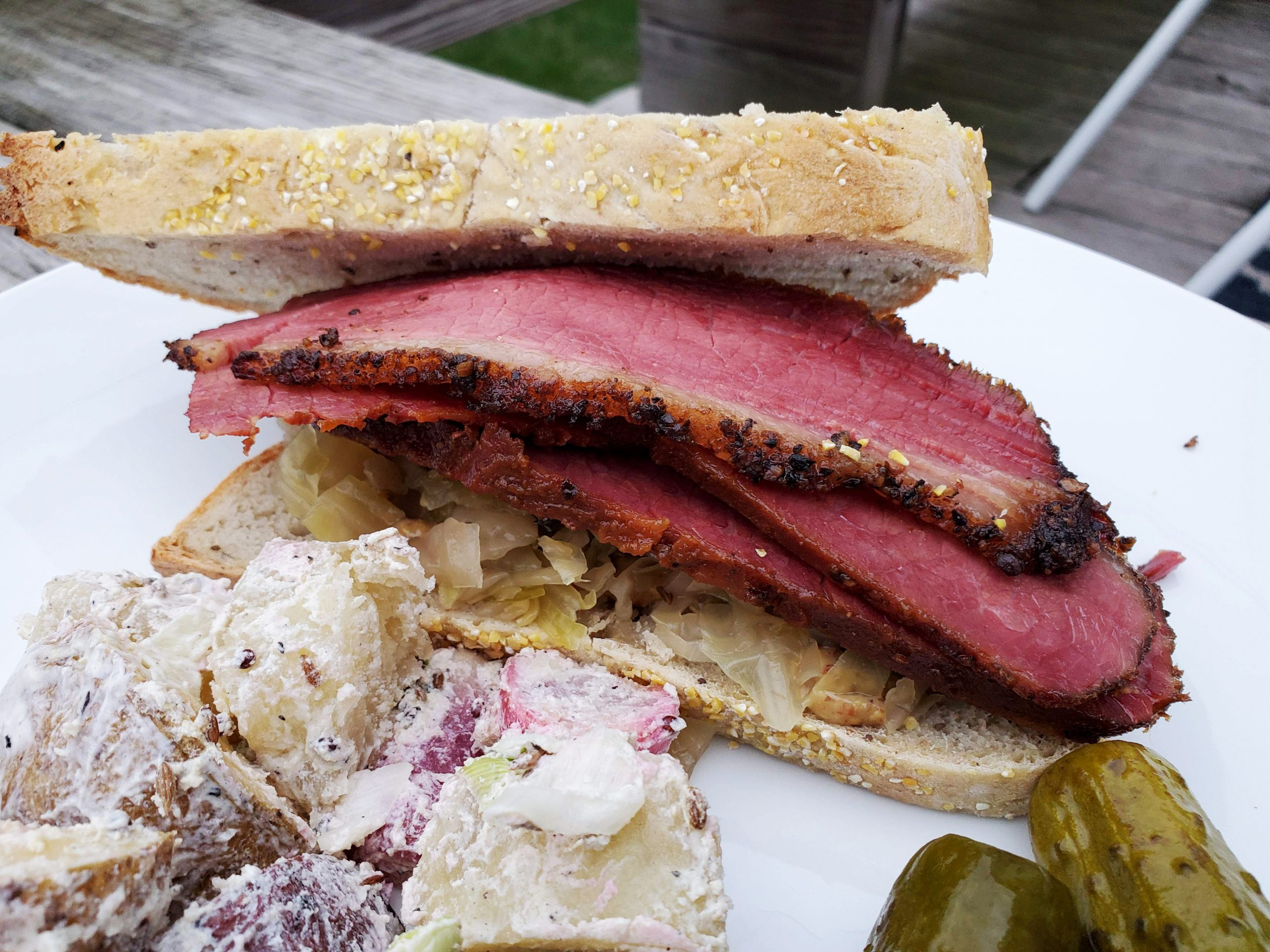 from scratch pastrami party