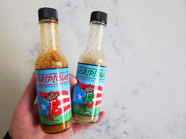 Boripique Hot Sauce - perfect with breakfast