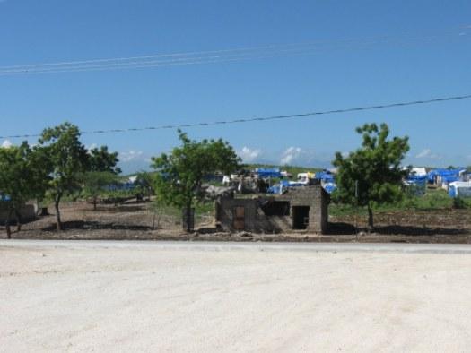 Teteyen tent city. Strangers in their own land
