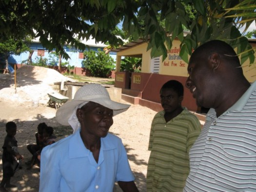Harry and one of my favorite Haitian ladies, Sister Fani