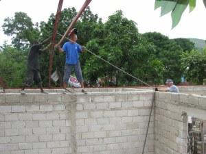 Setting truss #2