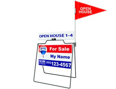 Real Estate A Frame sign