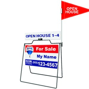 Real Estate A Frame sign
