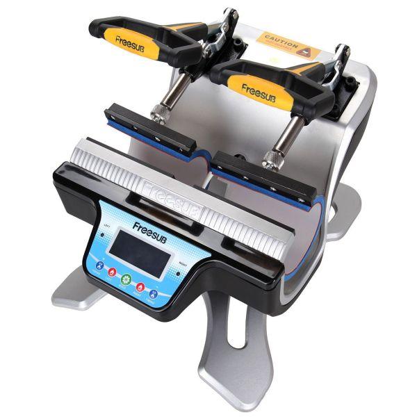 FreeSub 5-n-1 Mug Double Station Mug Press