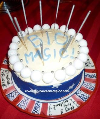 Bio Magic cake