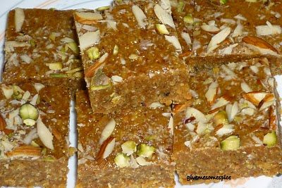 Mohanthal a Traditional Gujarati Sweet