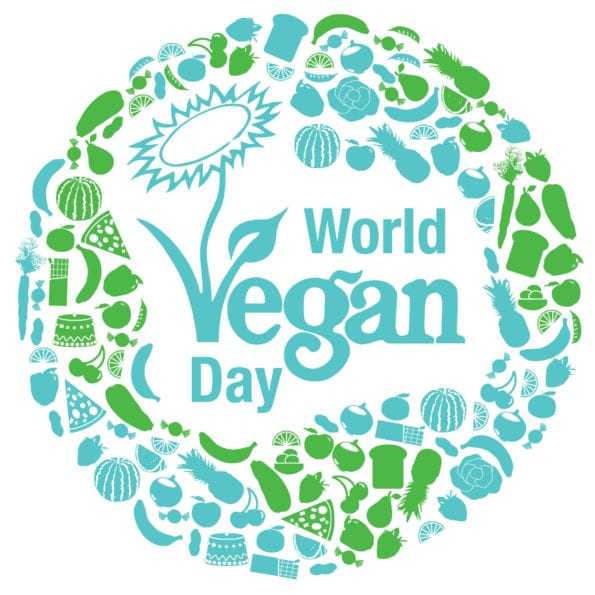 World Vegan Day logo