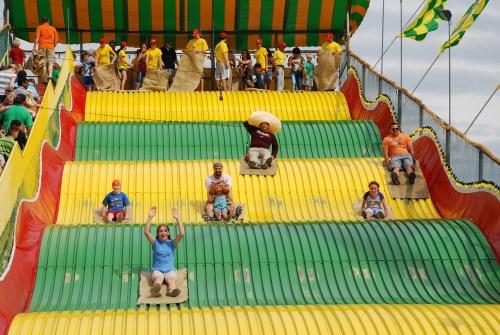 Minnesota State Fair Giant Slide