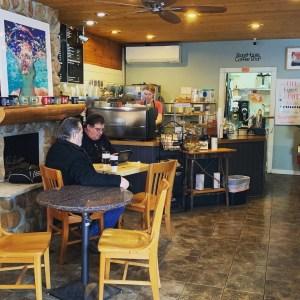 A photo inside Stonehouse Coffee in Nisswa.
