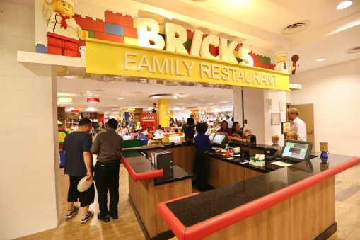 Bricks is Legoland Hotel's main restaurant.