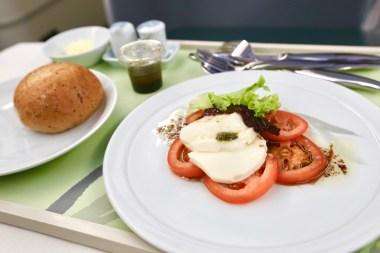 Tomato Carpaccio with Mozzarella (2.0)