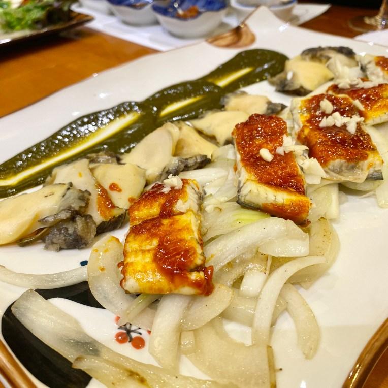 Grilled Eel + Sea Snail (2.5)