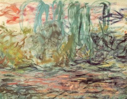 Un lieu pour l'oeil, Monet dans son jardin à Giverny