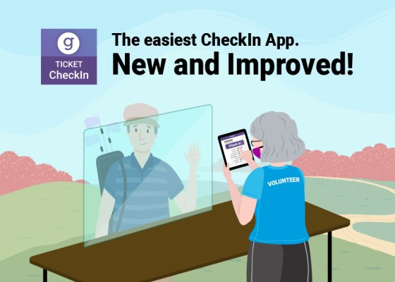 GiveSignup Ticket CheckIn App